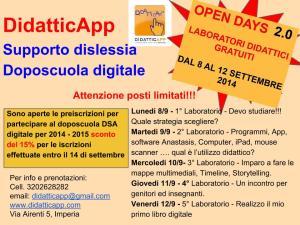 Open days 2.0 DidatticApp