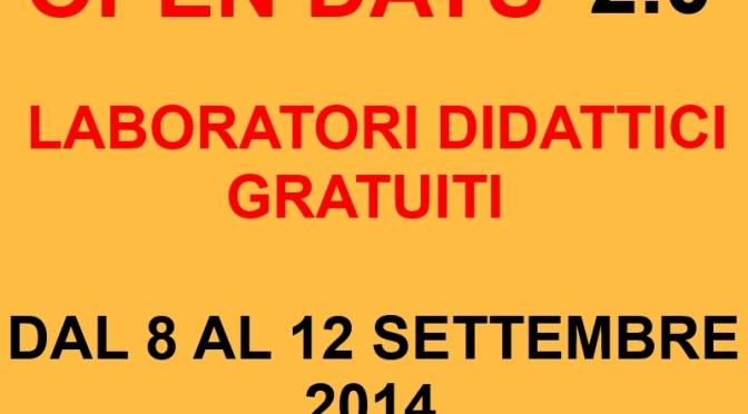 OPEN DAYS 2.0 PRESSO DIDATTICAPP DOPOSCUOLA DSA DIGITALE