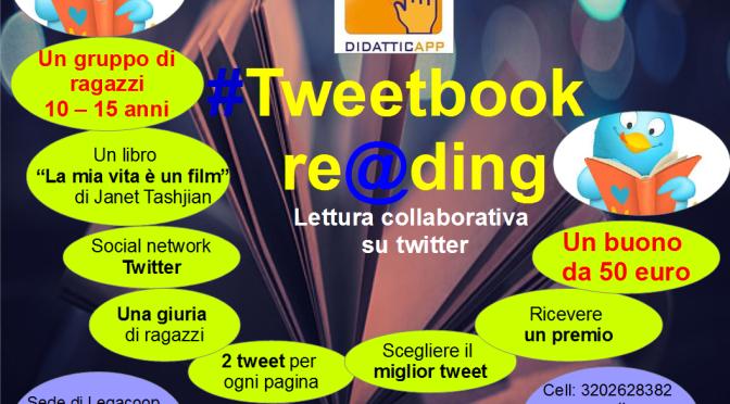 #Tweetbook  re@ding:  Progetto innovativo di lettura collaborativa per ragazzi